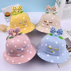 Mũ vành CÂY NẤM nhiều màu cho bé 6-24 tháng – MU20
