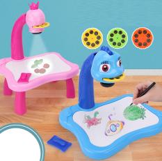 Bộ bàn máy chiếu đèn tập vẽ cho bé, bàn chiếu hình ảnh để bé vẽ theo, đồ chơi cho bé, đồ chơi giải trí cho bé chuẩn hình ảnh