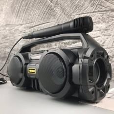 [ GIẢM GIÁ SIÊU SỐC ] Loa không dây HiFi 20W Bass Sound, Loa Bluetooth Xách Tay KM-S1 xách tay – Đèn LED sống động – Tặng 1 micro VÀ Cáp sạc HAVIT