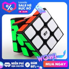QIYI Khối Lập Phương Ma Thuật Rubik Đồ Chơi 3×3 Bằng Nhựa An Toàn Cho Trẻ Em