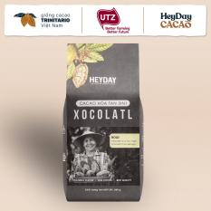 Bột cacao sữa 3in1 Xocolatl Bold – Túi 500g – Độc đáo 45% cacao nguyên chất – Gu mạnh vị đắng socola cực đậm – Ít ngọt – Không dùng hương liệu – Heyday Cacao