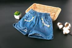 Quần sooc jeans bò cho bé 95-125cm, 13-24kg
