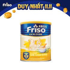 Bột ăn dặm sữa Friso Gold 300g – Tặng 2 gói tã Pampers M4 và L4 trị giá 60K