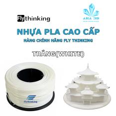 Nhựa PLA in 3D flythinking màu trắng, mực in 3d white.