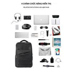 Thời trang bình thường túi máy tính kinh doanh du lịch ba lô công suất lớn
