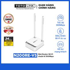 TOTOLINK – N200RE-V5 – Mini Router Wi-Fi chuẩn N 300Mbps
