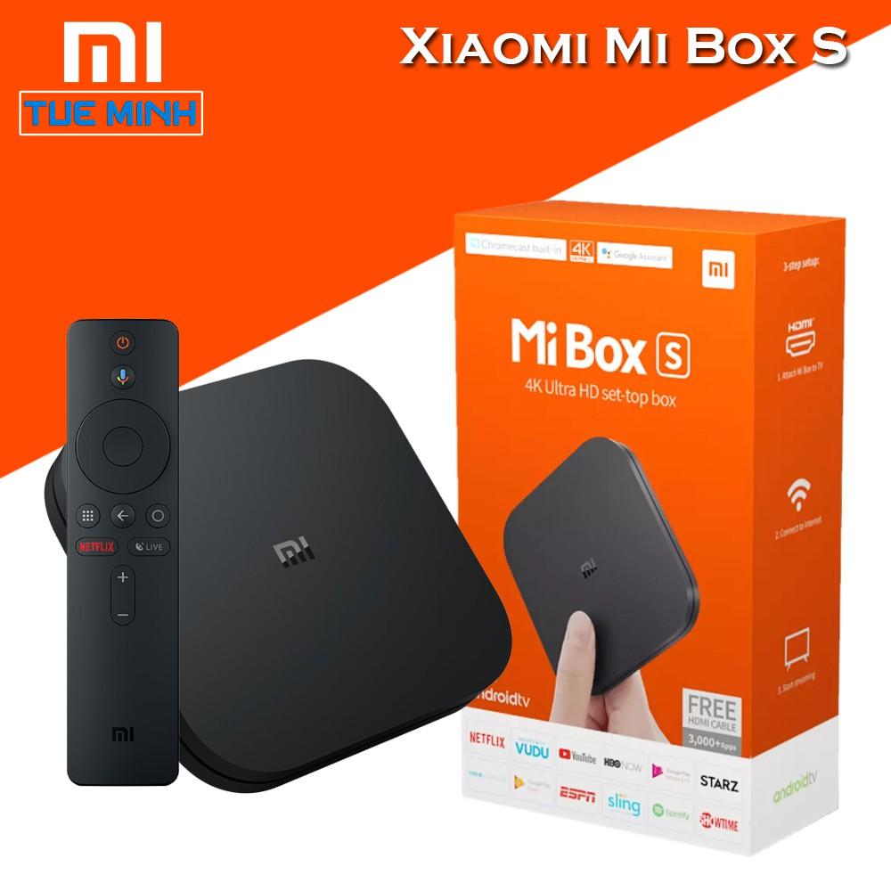 Android TV Box Xiaomi Mi Box S – Hàng chính hãng Digiworld phân phối