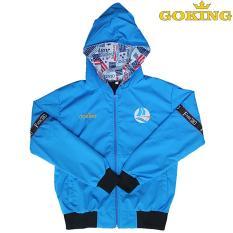 Áo khoác bé gái, chất liệu vải dù mềm mại, chống nắng, đi mưa, cản gió tốt, giữ ấm hiệu quả