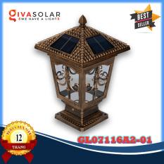 Đèn trụ cổng năng lượng mặt trời GIVASOLAR GV-GL07116A2-01