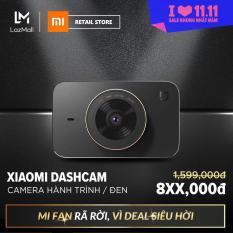 Camera hành trình Xiaomi Dashcam – Kết nối Wifi, Bluetooth 4.0 – Hỗ trợ thẻ nhớ tối đa 32GB – Ống kính góc quay rộng 160 độ – Hàng chính hãng