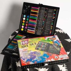 [HOT SALE] Bộ bút sáp màu 150 chi tiết có hộp cao cấp dành cho bé yêu