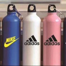 Bình đựng nước thể thao adidas nike inox 750ml