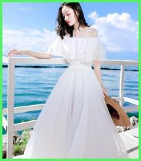 Đầm maxi voan thanh lịch Esther