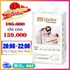 [SẢN PHẨM BÁN CHẠY] Bỉm quần – tã quần Mijuku 1 bịch 50 miếng đủ size cho bé từ 6kg trở lên