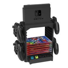 Kệ đa năng chứa băng game, Pro Controller, dock, joy-con và máy Nintendo Switch