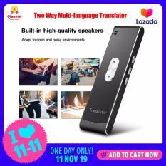 (Qianmei Đạt Chứng Nhận Vàng) Mới T8S Thông Minh Dịch Giả Đa ngôn ngữ 2 Chiều Thời Gian Thực Giải Nghĩa Dịch Giả
