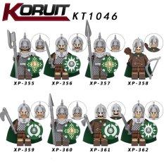 Minifigures Lính Trung Cổ Lord Of The Rings KT1046 Lính Rohan Mẫu Mới