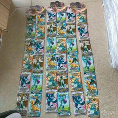 36 gói thẻ bài pokemon ( gói 8 bài)