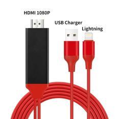 Cáp Lightning to HDMI – kết nối iPhone iPad với Tivi trắng