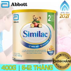 [SIMILAC EYE-Q 2] Sữa bột Similac EYE-Q số 2 dành cho trẻ nhỏ (6-12 tháng tuổi) – 400g