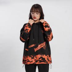 Áo khoác mũ Hoodie N7 Black Truth V2 nỉ bông cặp đôi nam nữ Oversize Ulzzang Hàn Quốc thu đông form rộng