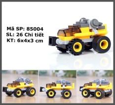 Đồ chơi trẻ em xếp hình LEGO CITY cao cấp xếp hình lắp ráp các loại xe ô tô từ 27 đến 32 chi tiết nhựa ABS cao cấp cho bé từ 4 tuổi trở lên phát triển trí tuệ và sáng tạo