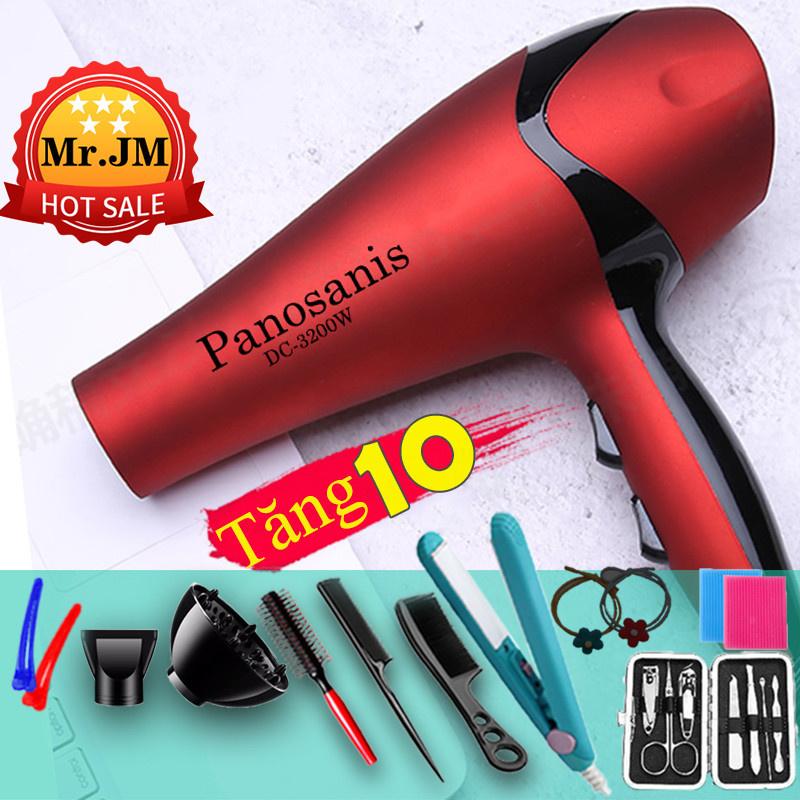 [ ĐỜI MỚI NHẤT] Máy sấy tóc Phát Sáng Xanh Panosanis công suất 3200W 2 chiều Bảo Hành 1 Năm...