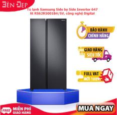 [TRẢ GÓP 0%] Tủ lạnh Samsung side by side RS62R5001B4/SV 647L