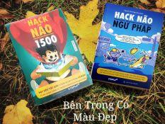 (Ảnh thật shop chụp ) Combo 2 Cuốn Hack Não 1500 và Hack Não Ngữ Pháp