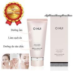 Sữa Rửa Mặt Dưỡng Ẩm Ohui Miracle Moisture Cleansing Foam 160ml – Hàng Chính Hãng