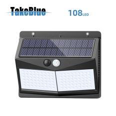 TakeBlue đèn năng lượng mặt trời 108 Led Cảm biến chuyển động