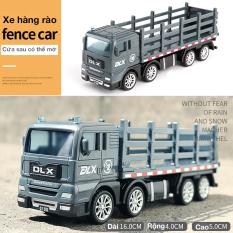 Xe đồ chơi mô hình xe tải hàng rào chở gia súc, nhựa an toàn chống rơi vỡ khi va đập chi tiết đẹp