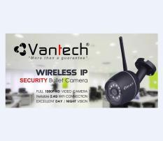 Camera IP Wifi chống nước Vantech VP-6600C
