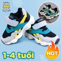Giày thể thao trẻ em cho bé trai và bé gái siêu thoáng siêu mềm 1-2-3-4 tuổi