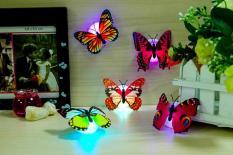 Bộ 5 Đèn led hình bướm, đèn phát sáng + Tặng kèm thẻ tích điểm Trangstore