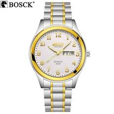 đồng hồ nam, đồng hồ nam đẹp, đồng hồ đeo tay, đồng hồ bosck 3032 trắng