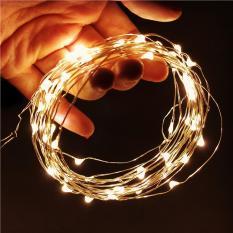 [Tặng Pin] Dây Đèn Led Đom Đóm Chipsbling Fairy Lights Dài 2m, 5m, 10m – Dùng Pin
