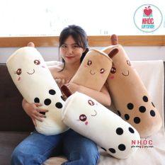Gấu Bông Gối Ôm Bình Trà Sữa Nhồi Bông C