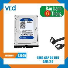 Ổ cứng HDD WD Blue 320GB – Nhập khẩu từ Nhật Bản, Hàn Quốc – Bảo hành chính hãng 6 tháng