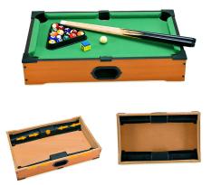 Bộ đồ chơi bàn bi da 31×51.5x9cm bằng gỗ cao cấp , đồ chơi bida , bida lỗ , bộ bida mini 6 lỗ cho bé