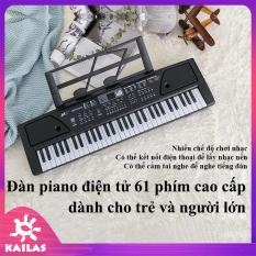 Đàn Piano Điện Tử 61 Phím, Đàn Piano Cho Bé, Người Mới Học Đàn, Đàn Điện Organ Electrion Keyboard – Kích Thích Trí Thông Minh – KAILAS