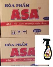 Thùng 12 chai Xịt xua đuổi chuột ASA Rat Repell 350 ml
