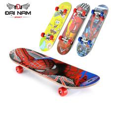 Ván Trượt Skateboard Trẻ Em Nhiều Họa Tiết Kích Thước 60cm (Từ 2-10 tuổi)