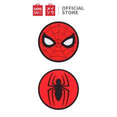 Miếng lót ly MARVEL 2.0, Spider man Miniso, 2 cái