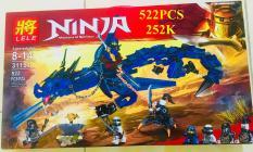 Siêu Hot – Bộ Lego Xếp Hình Ninjago Siêu Robot Rồng Chiến Đấu ( 522 Chi Tiết)