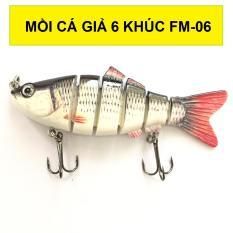 Mồi cá 6 khúc FM 06 – Mồi câu cá