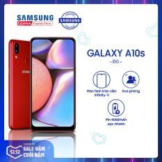 Samsung Galaxy A10s 32GB RAM2GB – Màn hình tràn viền 6.2 + Công nghệ nhận diện khuôn mặt + Cảm biến vân tay một chạm mặt lưng + 2 camera sau + Pin 3500mAh – Hàng Phân Phối Chính Hãng