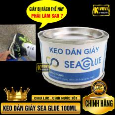 Keo Dán Giày Dép Siêu Dính Đa Năng Sea Glue 100ML – Keo Dán Giày Sea Glue 100ml Chịu Lực , Chịu Nước Tốt, Có Khả Năng Co Giãn Đàn Hồi Tốt – Kivovi