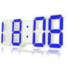 Đồng hồ treo tường, để bàn thông minh đèn LED 3D siêu sáng