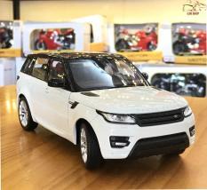 Xe mô hình sắt – Mô hình xe ô to Range Rover Sport tỉ lệ 1:24 hãng Welly FX màu trắng